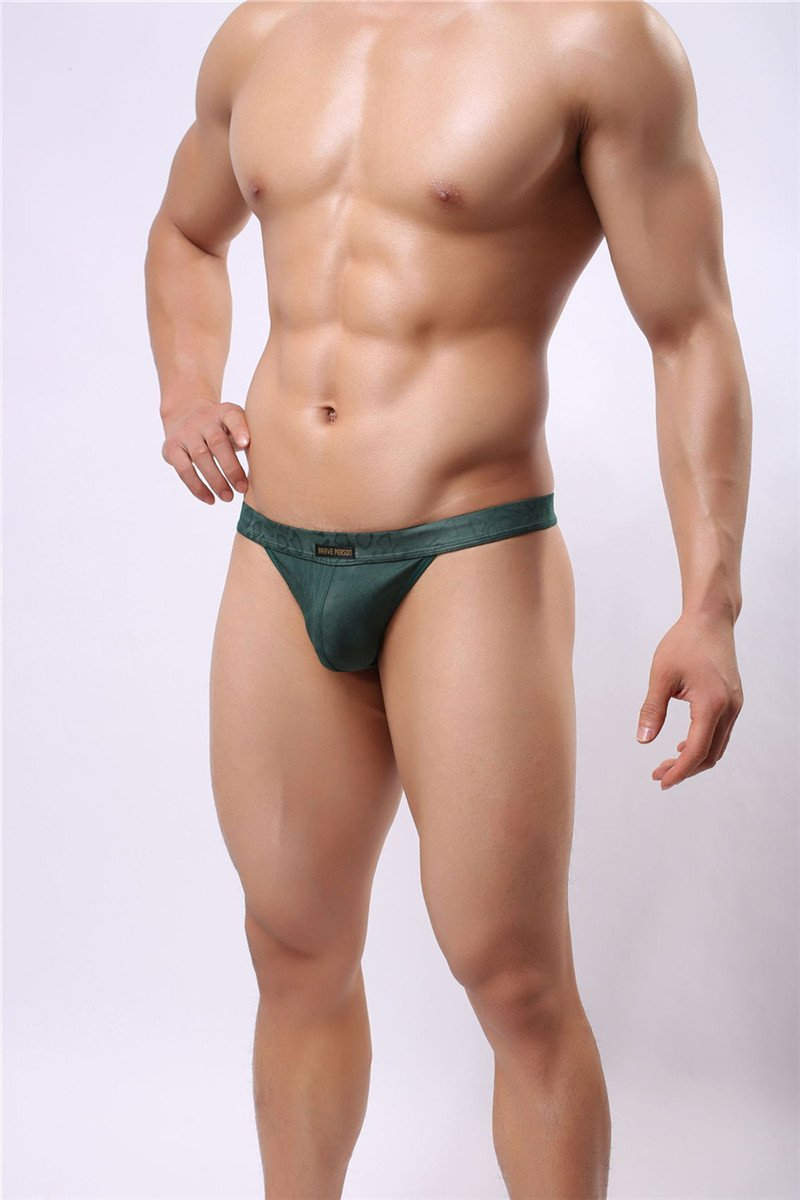 Sexy Men Lingerie 5 different color Thongs, G-String MALE underwear, 4 sizes to select ml-B1138