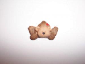Lying down Bear fridge magnet and keyring