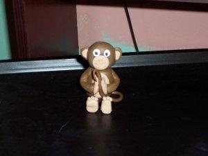 Handmade monkey