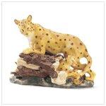 Porcelain Leopard Figurine