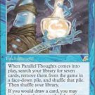Magic the Gathering Card - Parallel Thoughts (Scourge)