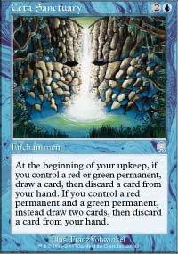 Magic the Gathering Card - Ceta Sanctuary (Apocalypse)