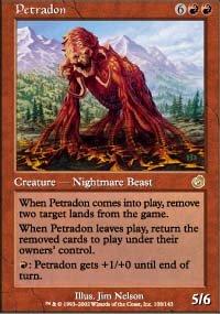 Magic the Gathering Card - Petradon (Torment)