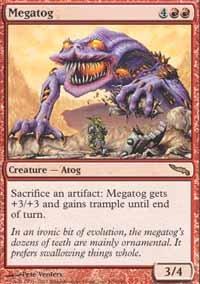 Magic the Gathering Card - Megatog (Mirrodin)