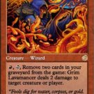 Magic the Gathering Card - Grim Lavamancer (Torment)