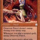 Magic the Gathering Card - Dwarven Patrol (Apocalypse)