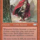 Magic the Gathering Card - Goblin Assassin (Legions)