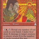 Magic the Gathering Card - Cinder Seer (Urza's Destiny)