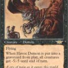 Magic the Gathering Card - Havoc Demon (Legions)