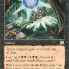 Magic the Gathering Card - Death Pulse FOIL (Onslaught)
