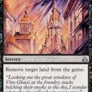 Magic the Gathering Card - Caustic Rain (Guildpact)