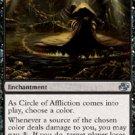 Magic the Gathering Card - Circle of Affliction (Planar Chaos)
