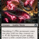Magic the Gathering Card - Waning Wurm (Planar Chaos)