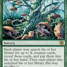 Magic the Gathering Card - Weird Harvest (Onslaught)
