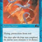 (4) Magic the Gathering Cards - Weatherseed Faeries
