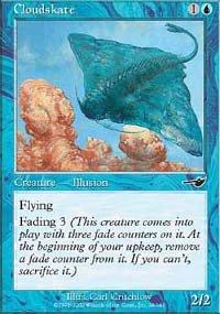 (4) Magic the Gathering Cards - Cloudskate