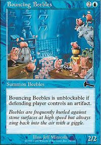 (4) Magic the Gathering Cards - Bouncing Beebles