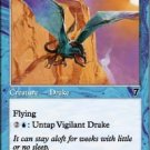 (4) Magic the Gathering Cards - Vigilant Drake