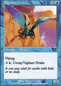 (4) Magic the Gathering Cards - Vigilant Drake