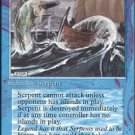 (4) Magic the Gathering Cards - Sea Serpent