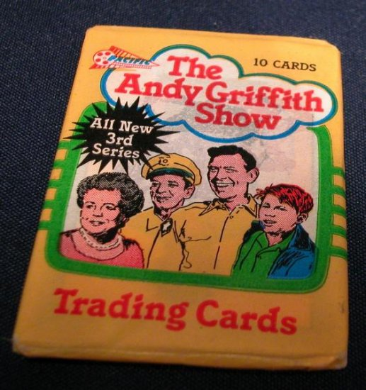 1991 Andy Griffith Show Trading Card Pack Never Opened