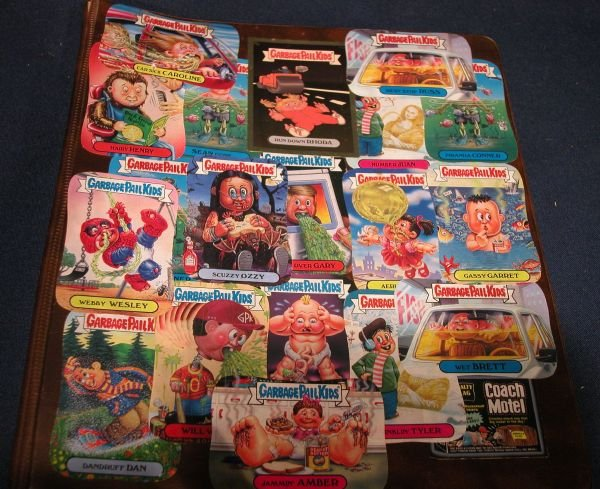 Garbage Pail Kids Sticker Collectors Cards Collection