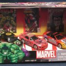 Johnny Lightning Marvel Comic Diecast Toy Car Set NIB