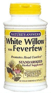 White Willow and Feverfew- Na/16445  Catalog p.11