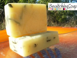 Ginger Shea Butter -- Cold Process Handmade Soap