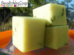 Rose Green Tea Cold Process Handmade Soap Botanical