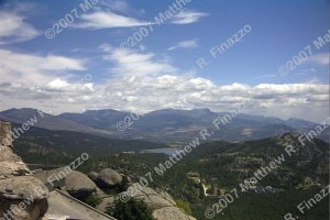 "View from El Escorial 4 x 6"""