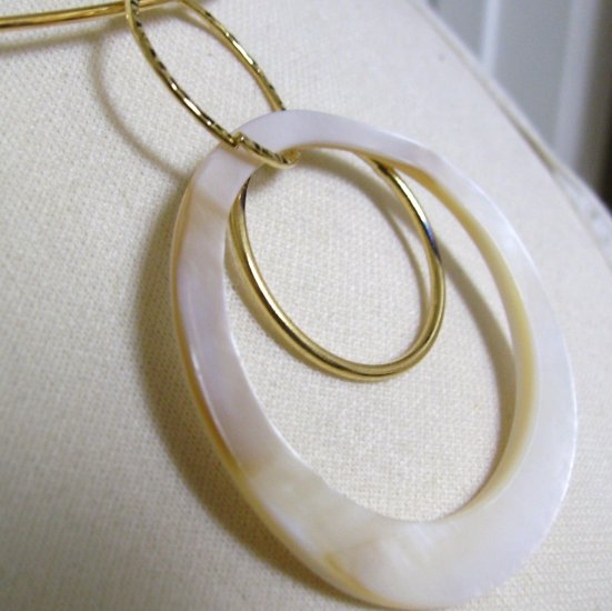 Shell And Goldplated Necklace