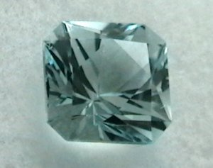 Natural color Sky Blue Topaz, 5.35 cts. - Exceptional cut!