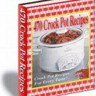 470 Crockpot recipes ebook cookbook digital - FREE SHIP