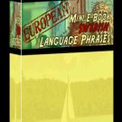 Europian Mini eBook SWEDISH language phrases digital