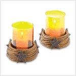 Western Candleholder Set