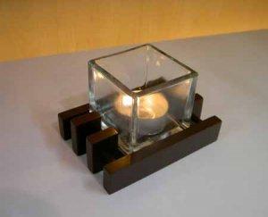 Handmade candle holder (P1078)