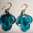 Cool  Cool Real Flower in Resin Earring