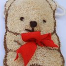 Natural Loofah (Teddy bear3)