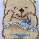 Natural Loofah (Teddy bear7)