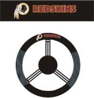 WASHINGTON REDSKINS POLY-SUEDE STEERING WHEEL COVER