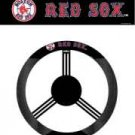 BOSTON RED SOX POLY-SUEDE STEERING WHEEL COVER