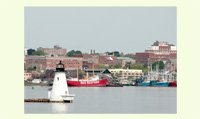 New Bedford Harbor and Lightship