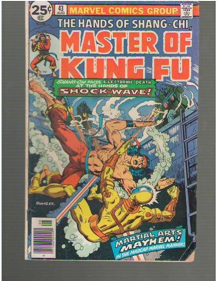 Master of Kung Fu #43 (A1)