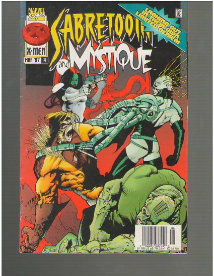 Sabretooth and Mystique #4 (A1)