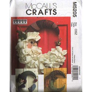 McCall's Craft Pattern Seasonal Wreathes