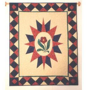 Country Compass Quilt Pattern by Dinah's Quilts