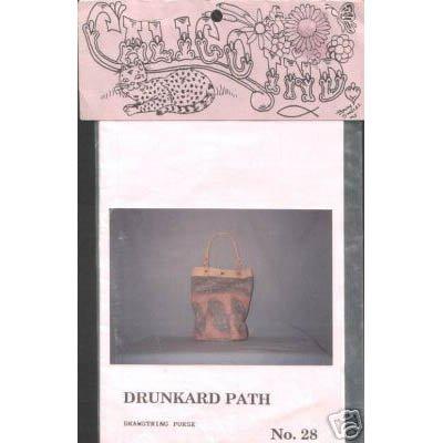 Calico Industries - Drunkard Path Purse Pattern
