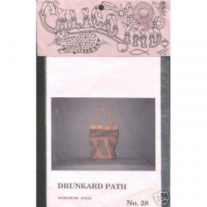 Calico Industries - Drunkard Path Purse Pattern