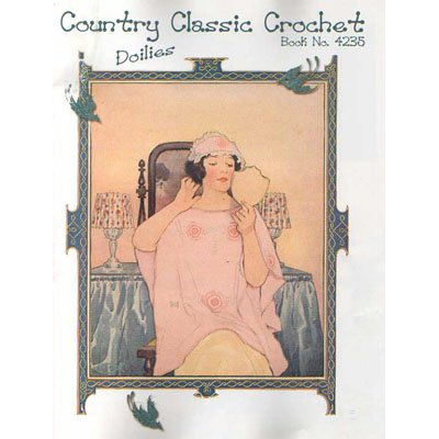 NEW !! Country Classic Crochet Book No. 4235
